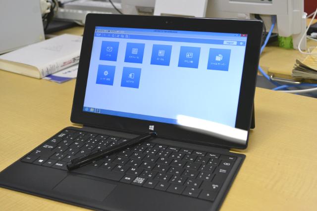 Windows 8 Pro搭載のSurface ProからCACHATTOを使う